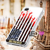 The Walking Dead Flag for iPhone 4/4s,5,5s,5c - SG S2,S3,S4 - SG S3 Mini,SG S4 Mini - iPod 4, iPod 5 - Htc One