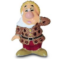 Sneezy Jeweled Mini Figurine by Arribas - Snow White and the Seven Dwarfs