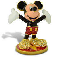 Limited Edition Mickey Mouse Jeweled Figurine by Arribas