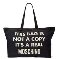 Moschino Not a Copy Tote