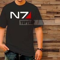 N7 Logo T-Shirt by yupylup