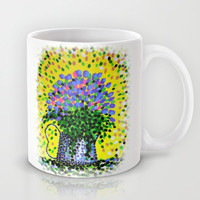 Explosive Flowers Mug by Alan Hogan
