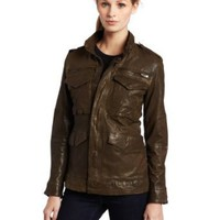 Joe's Jeans Women's Jerome Leather Jacket