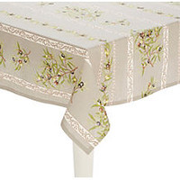 Provence Olives Tablecloth, TaupeMIERCO