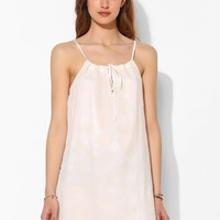 Chandi & Lia Paisley Eyelet Trapeze Dress - Urban Outfitters