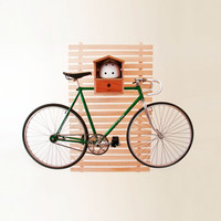 Hello Birdhouse Bike Rack
