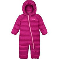 The North Face Lil Snuggler Down Bunting Ruffle Pink 3M-6M -Kids