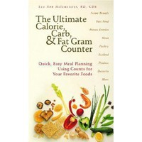 The Ultimate Calorie, Carb, & Fat Gram Counter [Paperback]