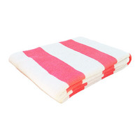 Springy Stripes Throw in Coral