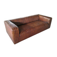 Claude Leather Sofa