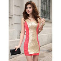 Bqueen Temperament Sexy Dress CZ011R - Designer Shoes|Bqueenshoes.com