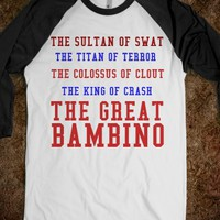 THE GREAT BAMBINO - glamfoxx.com - Skreened T-shirts, Organic Shirts, Hoodies, Kids Tees, Baby One-Pieces and Tote Bags