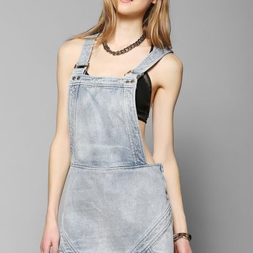 Finders Keepers Pawn Shop Blues Overall Skirt - Urban Outfitters