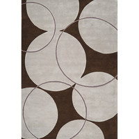 Bone & Coffee Bean Goa Wool Rug | something special every day