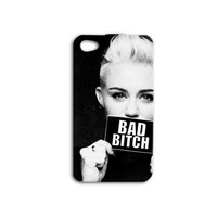 Miley Cyrus iPhone Case Funny Cute Hot Cool Quote Girly iPod Case iPhone 4 iPhone 5 iPhone 5s iPhone 4s iPhone 5c iPod 4 Case iPod 5 Case