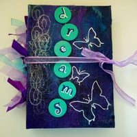 Handmade Dreams Art Journal Scrapbook Dream Book
