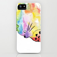 Watercolor Totoro iPhone/iPod Case