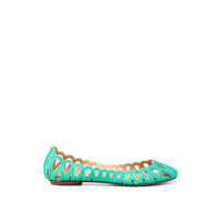 CUTWORK BALLERINA - Flats - Woman - ShoesBags - ZARA United States