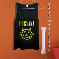 Nirvana Purvana cat-Tank Top design