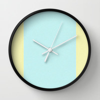 Re-Created Interference ONE No. 24 Wall Clock by Robert S. Lee
