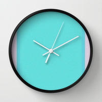 Re-Created Interference ONE No. 21 Wall Clock by Robert S. Lee