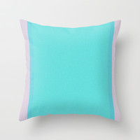 Re-Created Interference ONE No. 21 Throw Pillow by Robert S. Lee
