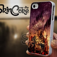Supernatural Painting - iPhone 4/4s/5/5s/5c - iPod 4/5 - Samsung Galaxy s3 i9300/ s4 i9500 Case