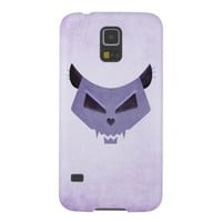 Evil Eyes Purple Cat Skull