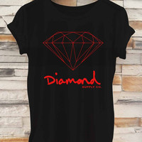Diamond Supply _ Tshirt  And Tank Top Men And Women Design By : PATUNGAN
