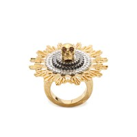 Women Ring - Women Jewellery on ALEXANDER MCQUEEN Online Store