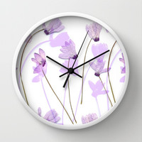 Flowering #7 Wall Clock by Ornaart