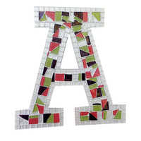 Alphabet Wall Letter, Colorful Home Decor, Letter A