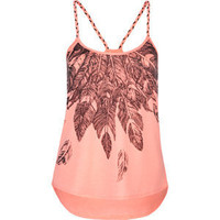 FULL TILT Feather Womens Lace Back Tank | Tillys.com