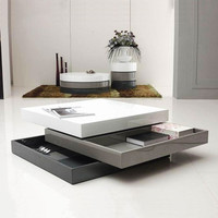 A Trio of Tones Coffee Table