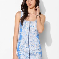 Lucca Couture Zip-Front Bodycon Tank Dress - Urban Outfitters