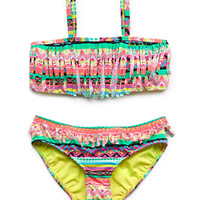 Neon Fringe Two-Piece (Kids)