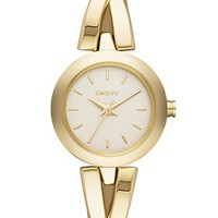 DKNY 'Crosswalk' Round Bangle Watch, 20mm | Nordstrom