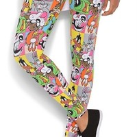 Legging with Looney Tunes Print