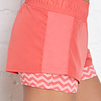 FOREVER 21 Peek-A-Boo Training Shorts