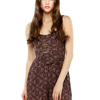 Papaya Clothing Online :: BOHEMIAN BOW ROMPER