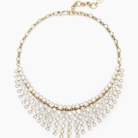 Crystal Sunburst Necklace