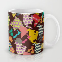 geometric world Mug by Sharon Turner | Society6