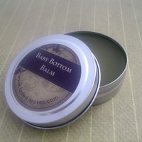 Baby Bottom Balm, all natural and organic ingredients