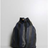 secchielo bag stripe navy