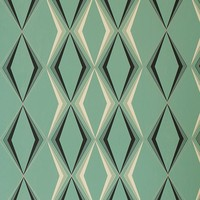 Graham & Brown Hemingway Deco Diamond Wallpaper