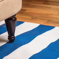 Holli Zollinger Nautical Stripe Woven Rug