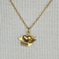 Supermarket - Gold &quot;fragile heart&quot; necklace from Jenny Dayco