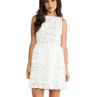 BB Dakota Sibly Tank Dress in Optic White