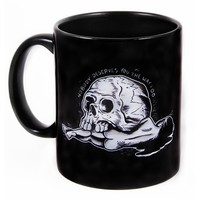 "Limited Edition ""Skull Crush"" Mug by Matt Kerley x Inked (Black)"