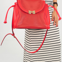 Highs And Bows Purse: Red